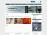 Obchodní a stavební společnost Renew cz s. r. o. Úpice RENEW CZ