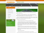 RENOVIA - stavebná firma, výstavba a opravy ciest - O firme
