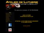 Réparation guitare, réglage guitare, amélioration guitare, luthier guitare en Essonne (91).