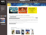 Copie de tableaux chez Art Copie Deco - Art Copie Deacute;co