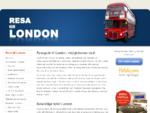 Resa till London - reseguide med sevärdheter, biljetter till musikaler, fotbollsresor och bokning