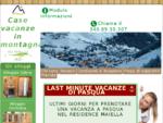 Case vacanze in montagna