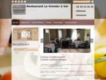 Restaurants - Restaurant Le Grenier à Sel à Le Mans