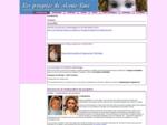 | Les poupées de Marie-Line