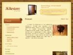 JK Restore OÜ - antiikmööbel - antiik - restaureerimine