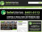 Resultado da Loteria, Resultados da Loterias da Caixa, TeleLoterias 8401-0113