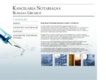 Kancelaria notarialna oferująca pełen zakres usług notarialnych | Notariusz z Krakowa