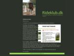 rideklub. dk - webløsninger til rideklubber - databaser - totalløsninger