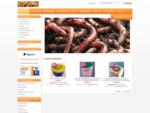 RIESENWURM. de Angelköder Kompostwürmer, Angelwürmer, Futterwürmer ... Verkauf, Versand, Groß ...
