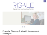 Rigale Financial Solutions, Melbourne - Financial Strategies, Superannuation, Risk insurance and