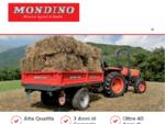 Rimorchi agricoli monoasse e macchine agricole - Rimorchi Mondino, Margarita, Cuneo