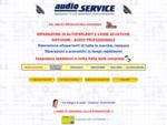 Audio Service, Riparazione Altoparlanti Assistenza tecnica Autorizzata e vendita, riparazione ...