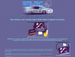 RITE-TEC PRODUCTS Rev-Limiters, Gear Change Lights (Shift Lights) and Speedo Converters