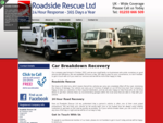 Car and Van Breakdown in Kent Roadside Rescue Ltd