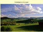 Généalogie en Auvergne