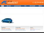 Rent a Car - Rodorent - Aluguer de viaturas sem condutor, Lda