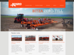 Rogro Machinery the leader in Conservation Farming Equipment - Rogro Bitza Zero Till Planter Units