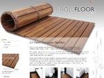 Holzbadematte – Wellnessmatte – ROLLFLOOR exclusiv - Rollfloor
