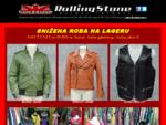 Kožne jakne RollingStone - Roker, Pilot, RVPVO, Gornjak, Moto jakne - Sivenje po meri - Dizajnir