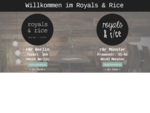 Royals Rice - Münster Berlin