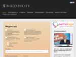 Κτηματομεσιτικό γραφείο - Romas Estate