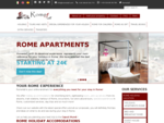 Apartments rental, Tours, BB,and travel services Rome