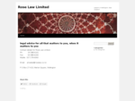 Rose Law Limited | Lawyers in Wellington, New Zealand