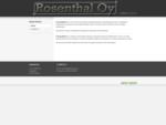 K. Rosenthal Oy - Fasteners, handtools etc.