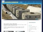 Manufatti in cemento per le opere di edilizia - Rotondi Prefabbricati