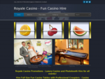 Fun Casino, Hire Casino, Casino Nights