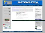 Matemática - Educação - Ricardo Pinto