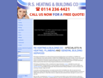RS Heating, Plumbing and Building - Specialists In Heating Plumbing And General Building Services - ...