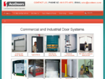 Industrial Roller Doors - Sectional - High Speed - Insulated - PVC - Fire Rated - Sliding - Dock Le