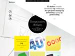 Rumfang grafisk design- og webbureau visuel identitet logodesign webdesign