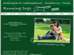 Herzlich Willkommen - Hundeschule Running Dogs - Silvia Baumann - 83052 Bruckmühl