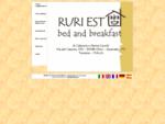 Ruri Est bed and breakfast in Toscana, soggiorni relax e vacanze tra Firenze e Pistoia
