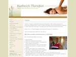 RUSHWICK THERAPIES - Massage, Reflexology, Pregnancy Treatments, Worcester - Benefits ...
