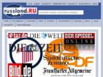 russland. RU die Internet Zeitung aus Russland Aktuelles aus Russland, Analysen aus Russland, ...