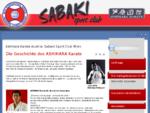 Ashihara Karate Austria- Sabaki Sport Club Wien