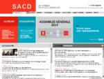 Société des Auteurs et Compositeurs Dramatiques [SACD] - Accueil - SACD