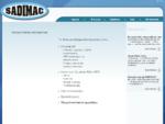 Sadimac - Ξυλουργικά Μηχανήματα - Κοπτικά Εργαλεία - Επεξεργασία Ξύλου -