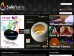 SafeFlame Battery Operated LED Flameless Candles   Himalayan Salt Lamps   Ultrasonic Aromatherapy
