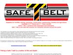 safe t belt industrial seat belt for mining forklifts construction seatbelts for lift trucks