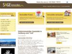SAGE Immobilien Zell am See Immobilien und Wohnimmobilien im Bundesland Salzburg Zell am See, ...