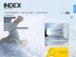 INDEX - šaldymo įranga, kondicionavimas, parduotuvių įranga