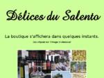 Délices du Salento vente de produits italiens fins à Mulhouse, produits des Pouilles et du Salento