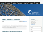 SAMAS ingeniería y urbanismo Certificados Energéticos, Boletines Eléctricos, Proyectos de Apertura