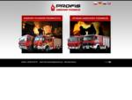 Używane samochody pożarnicze - zabudowy samochodów pożarniczych - PROFIS