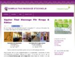 Samruai Thai massage i Stockholm med influenser från Taiwan
