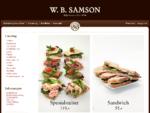 Butikker W. B. Samson Catering, Levering av catering i Oslo
